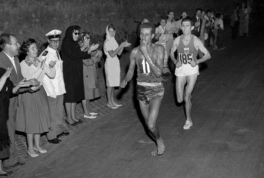 Abebe Bikila, el campeón descalzo