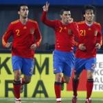 partido Austria – España, otra goleada