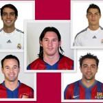 Candidatos mejor jugador FIFA