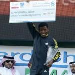 Haile Gebrselassie gana el maratón de Dubai