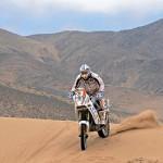 Marc Coma vuelve a ganar otra etapa del Dakar