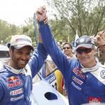 Carlos Sainz gana el rally Dakar 2010