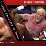 Mundial peso pesado: Holyfield vs Botha