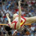 Ruth Beitia en los mundiales de Doha