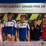 Clasificación para el GP de Le Mans Francia