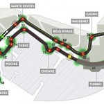 El circuito de Montecarlo del GP de Mónaco
