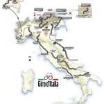 Recorrido y etapas del Giro de Italia 2010