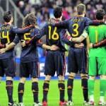 Dorsales de España para el Mundial Sudáfrica 2010