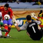 España 1-Portugal 0, a cuartos contra Paraguay
