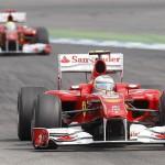 Massa se deja adelantar por Alonso que vence en el GP de Alemania