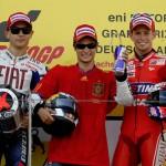 GP de Alemania, triplete español