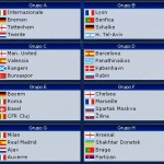 Sorteo fase de grupos Liga de Campeones