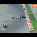 Muere Tomizawa en el GP de San Marino