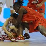 El equipo español femenino de baloncesto en cuartos de final del mundial