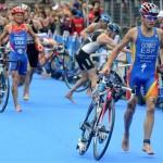 Gómez Noya campeón del mundo de triatlón