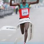 Kenia arrasa en el mundial de medio maratón