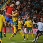 España derrota a Lituania en la clasificación para la Eurocopa 2012