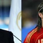 """Sergio Ramos y su """"¡arriba España!"""""""
