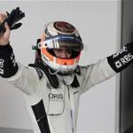 Parrilla de salida del GP de Brasil
