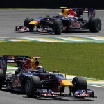 Red Bull domina el GP de Brasil