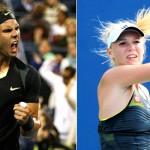 Rafa Nadal y Caroline Wozniacki mejores tenistas de 2010