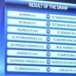 Sorteo competiciones europeas de fútbol