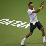 Federer vence a Davydenko en la final de Doha
