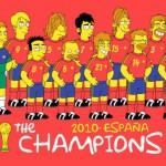 """La selección española de fútbol en """"Los Simpsons"""""""