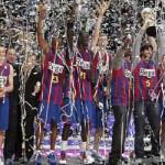 El Barcelona campeón de la copa del Rey de baloncesto
