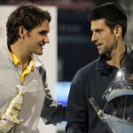 Djokovic gana a Federer el open de Dubai