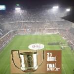 Final de la Copa en el estadio de Mestalla de Valencia