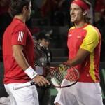 España vence a Bélgica en la copa Davis