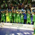 El Inter Movistar gana la Copa Intercontinental de fútbol-sala