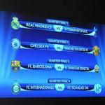 Sorteo cuartos de final competiciones europeas