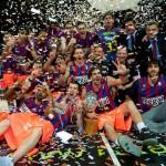 Regal Barcelona campeón de la Liga ACB de baloncesto