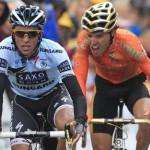 Contador ataca a los Schleck en un puerto de 2ª categoría