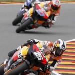 Triplete español en el GP de Alemania de motociclismo