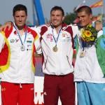 David Cal medalla de plata en los mundiales de Hungría