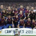 El Barcelona campeón de la Supercopa