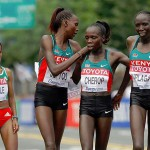 Poderío keniata en el fondo femenino del Mundial de Daegu