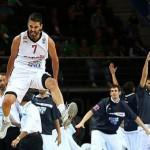España vence a Macedonia y estará en la final del Eurobasket