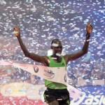Kipsang roza el récord del mundo en el Maratón de Frankfurt