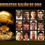 Diez futbolistas del Barça y cinco del Madrid nominados al Balón de Oro