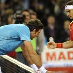 Nadal y Ferrer vencen en la Copa Davis