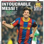 Lionel Messi mejor deportista del 2011 para l´Equipe