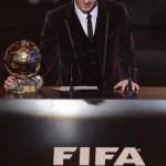 Messi gana su tercer Balón de Oro