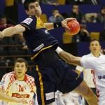 España derrota a Croacia en el Europeo de balonmano