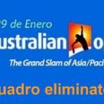 Cuadro Open de Australia 2012