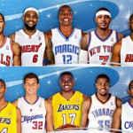 Equipos titulares NBA All Star 2012