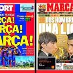 El clásico Barcelona-Real Madrid acapara titulares